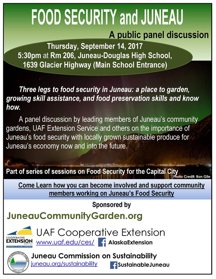 Food Security in Juneau, panel